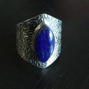 Jewelry - Sterling Silver and Lapis Ring
